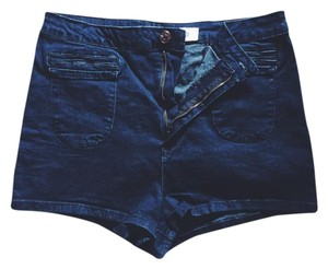 BDG Mini/Short Shorts Dark blue denim