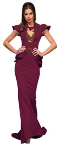 Fouad Sarkis Long Evening Gown Night Out Evening Party Dress