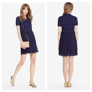 Diane von Furstenberg short dress Midnight blue on Tradesy
