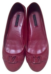Louis Vuitton red Flats
