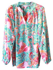 Lilly Pulitzer Top Peel and Eat