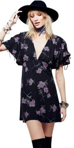 Free People short dress Night Floral on Tradesy