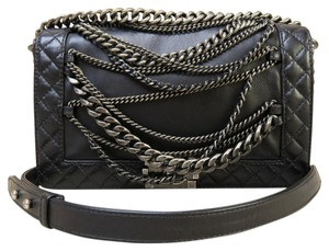 Chanel Limited Edition Boy Calfskin Shoulder Bag