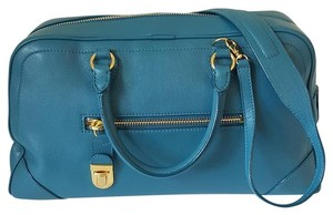 Marc Jacobs Satchel in Peacock Blue
