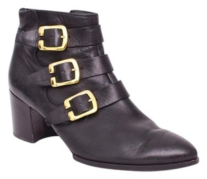 Paul Green Rage Buckle Black Boots