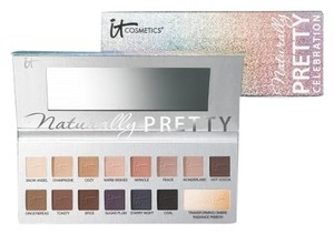 IT Cosmetics New Limited Edition It Cosmetics Naturally Pretty Celebration Matte Transforming Anti-Aging Eyeshadow Palette