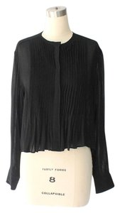 Isabel Marant Buttonup Loose Fitting Top Black