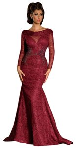Fouad Sarkis Evening Long Dress