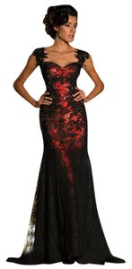 MNM Couture Evening Classic Long Party Dress