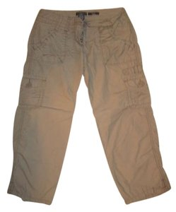 The Limited Capris Brown