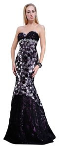 MNM Couture Evening Gown Strapless Dress