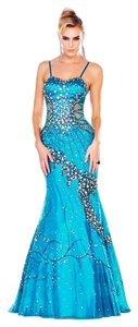 MNM Couture Evening Gown Evening Night Out Party Long Dress