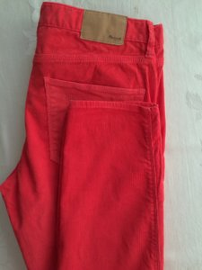 Madewell Capris raspberry red