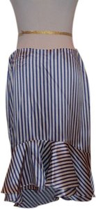 Lauren by Ralph Lauren Skirt BLUE AND WHITE STRIPE