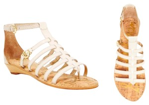 Sam Edelman Ivory, Tan Cognac Sandals