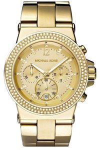 Michael Kors Michael Kors Dylan MK5386 Gold Tone Oversized Chronograph Watch