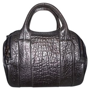 Alexander Wang Satchel in Gun-Metal