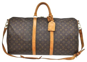Louis Vuitton Monogram Brown Travel Bag