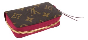 Louis Vuitton Louis Vuitton Monogram Zippy Multicartes w/ Fuchsia Interior