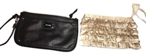 Nine West beige - black Clutch