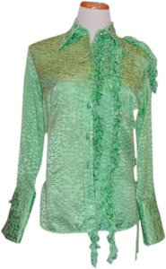 Marchesa Voyage Top GREEN