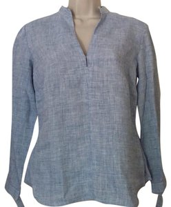 French Connection Top Blue