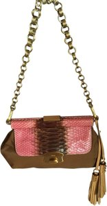 Prada Snakeskin Shoulder Bag