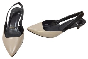 Pierre Hardy Beige/Black Pumps
