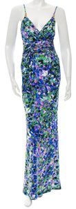 Roberto Cavalli Watercolor Sleeveless Dress