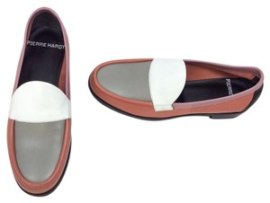 Pierre Hardy Pink/White/Gray Flats