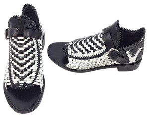 Proenza Schouler Black/White Sandals