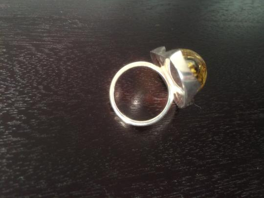 Other sterling silver w/ amber