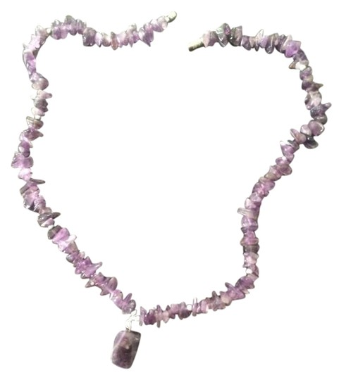 Preload https://item3.tradesy.com/images/purple-crystals-necklace-19643877-0-2.jpg?width=440&height=440