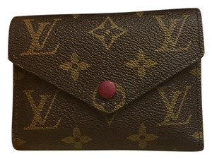 Louis Vuitton USE CODE DROP50 FOR $50 Off! Victorine Wallet In Fuchsia