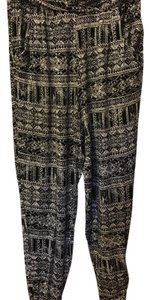 Jessica Simpson Baggy Pants Black/White