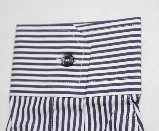 Gucci Blue/White Blue/White Stripe Skinny Formal Dress 38/15 307641 9040 Shirt