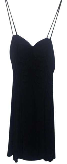 Preload https://item2.tradesy.com/images/louis-feraud-black-made-in-france-strappy-cotton-knee-length-short-casual-dress-size-14-l-19644231-0-1.jpg?width=400&height=650