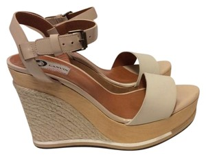 Lanvin two tone Sandals