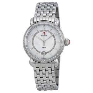 Michele Michele CSX Elegance Silver Stainless Diamond Watch MWW03T000035