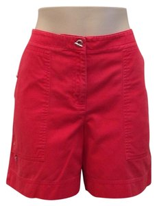 Jones New York Shorts Red-Salmon
