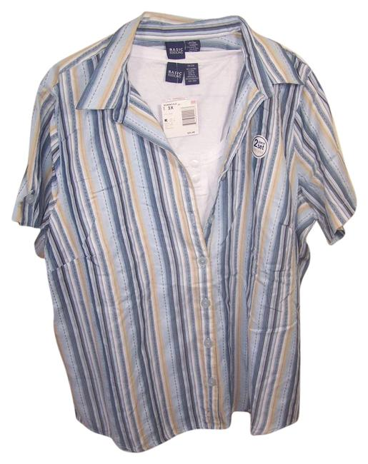 Preload https://img-static.tradesy.com/item/19644462/basic-editions-multi-color-two-piece-night-shirt-button-down-top-size-22-plus-2x-0-1-650-650.jpg