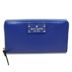 Kate Spade Neda Wellesley Emperor Blue Clutch