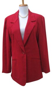 J. PERCY FOR MARVIN RICHARDS Red Blazer