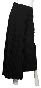 Brunello Cucinelli Pleated Long Black Maxi Skirt