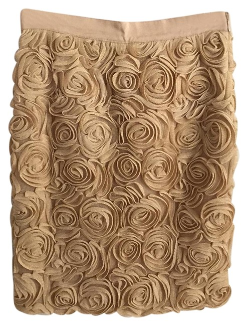 Preload https://item5.tradesy.com/images/banana-republic-gold-beige-party-pencil-knee-length-skirt-size-petite-0-xxs-19644769-0-1.jpg?width=400&height=650