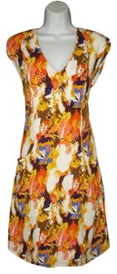 Anthropologie short dress Maple Crepe on Tradesy