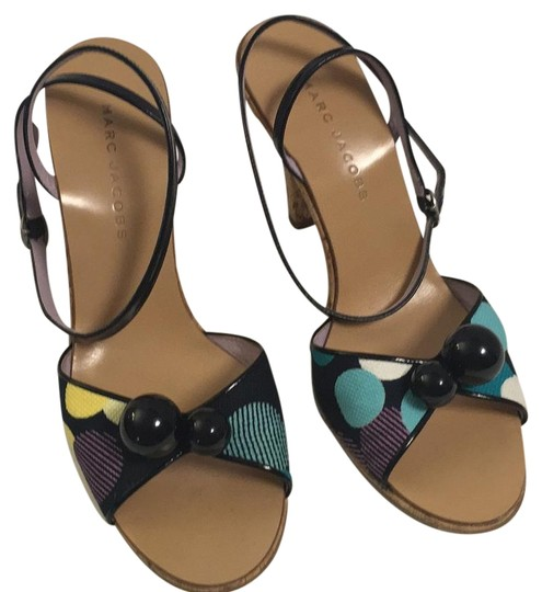 Preload https://item4.tradesy.com/images/marc-jacobs-black-multicolor-patent-leather-and-canvas-high-sandals-size-us-8-regular-m-b-19644868-0-1.jpg?width=440&height=440