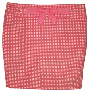 Ann Taylor LOFT Pencil Polka Dot Rockabilly Skirt