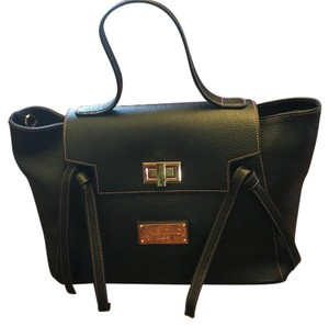 Mario Valentino Spa Satchel in Black
