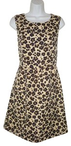 Banana Republic short dress Leopard Animal Print Fit & Flare on Tradesy